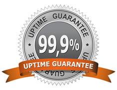 99.9% uptime sla